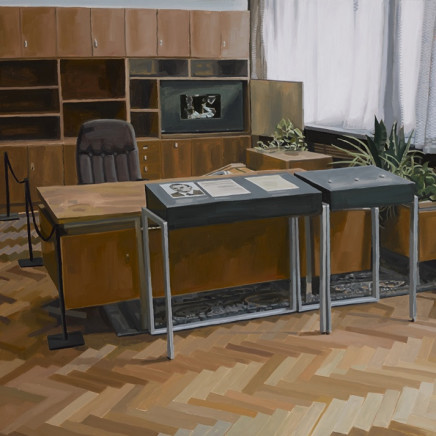 Stasi Museum II, oil on canvas, 80 x 120cm