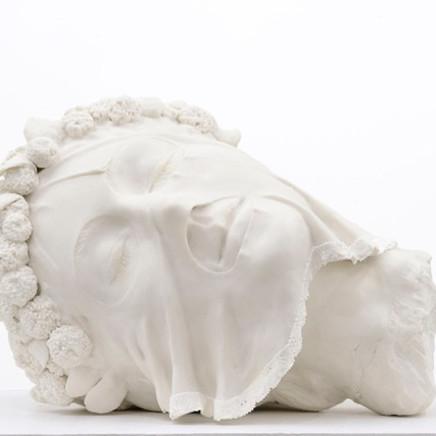 Ursula Burke, Balaclava Bust, Porcelain, 2014