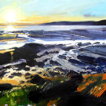 Ben McLeod - Early evening light at low tide I