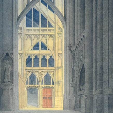 Gerard Stamp - Towards the South Transept, Gloucester