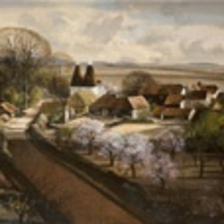 Rowland Hilder - The Garden of England (near Tonbridge, Kent)