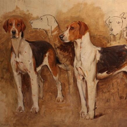Frank Calderon - Hound Study