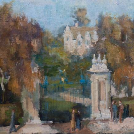 Bernard Dunstan RA - Trinity Gate, Oxford