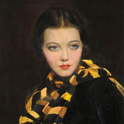 Jane Freeman - Portrait of Syliva Sidney
