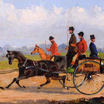 William J Shayer - Coaching Scene I