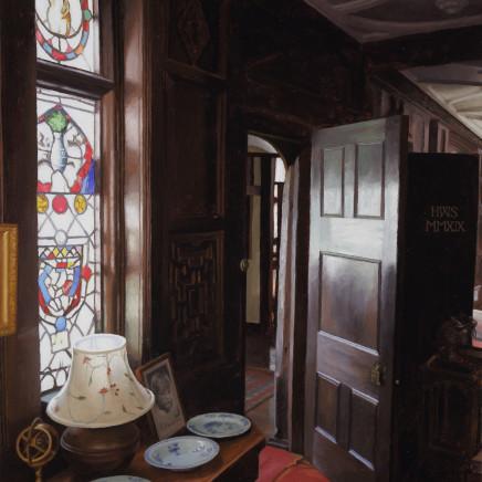 Harry Steen - Jigsaw Puzzle - House in Wales - urn in window, 2020