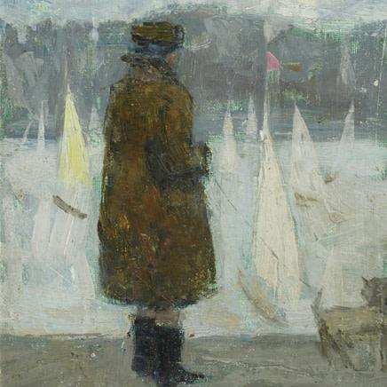 Margaret Green - Woman and Sailboats
