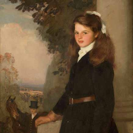 Harold Speed - Portrait of a Young Girl, 1908