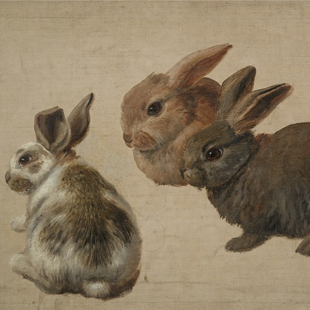 Unknown artist - Three Rabbits