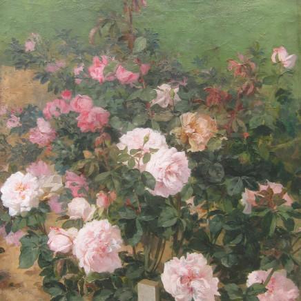 Achilles Theodore Cesbron - The Rose Garden