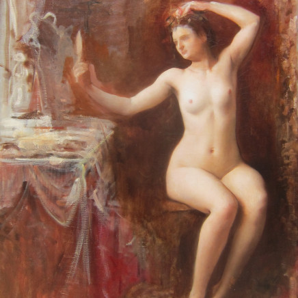 Louise Abbema - In the boudoir