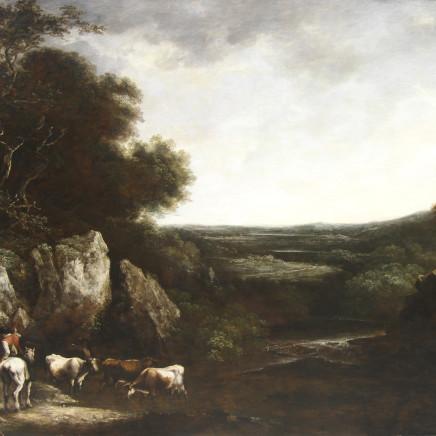 Benjamin Barker of Bath - Pastoral landscape with Cattle