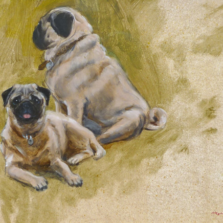 Henry Koehler - Two Pugs