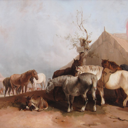 William Shayer - The Horse Fair