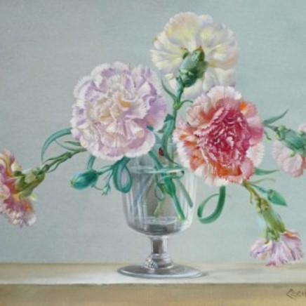 Cecil Kennedy - Carnations in a vase