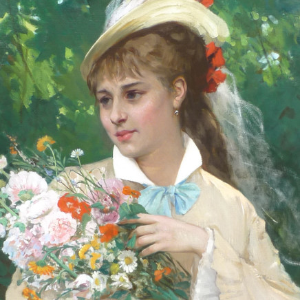 Leonardo Gasser - The Flower Girl