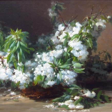 Gabriel Edouard Thurner - Cherry Blossoms