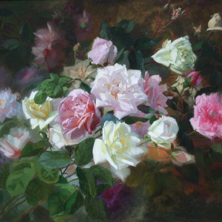 Marc-Laurent Bruyas - Study of Roses