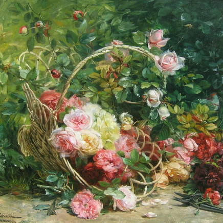Federico Olario - Basket of flowers