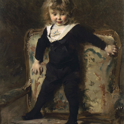 Georges Picard - Portrait of a little boy