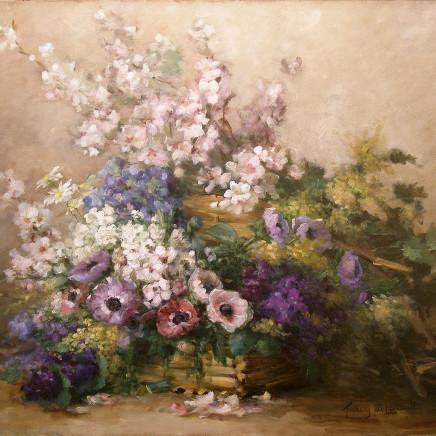 Albert-Tibulle Furcy de Lavault - Mixed Spring flowers