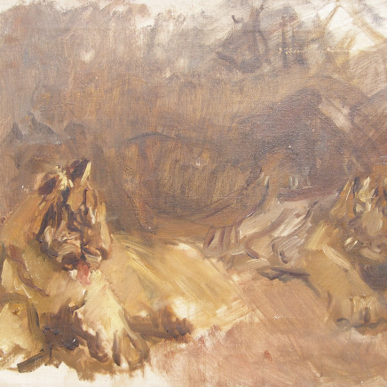 Max Slevogt - Study of Lions , c.1907