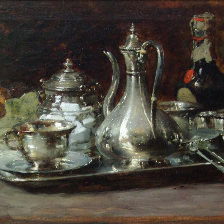 Guillaume Fouace - Still life with a silver jug