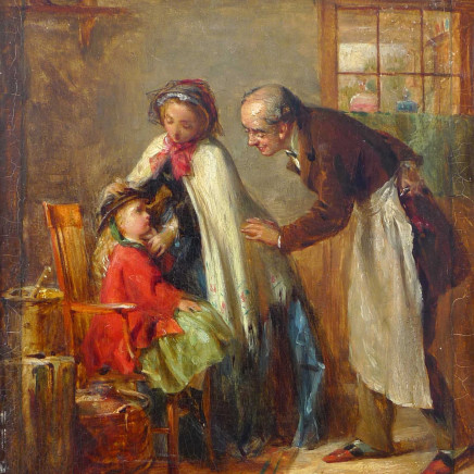 Thomas Webster - A visit to the dentist