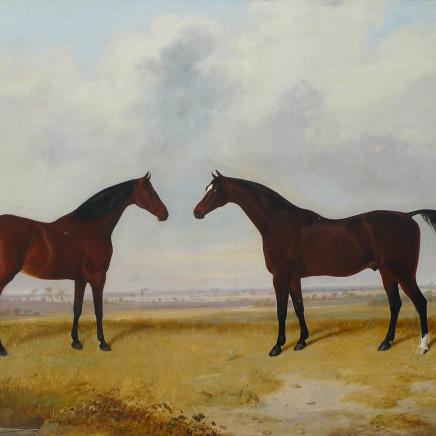 E. W. Webb - Two Horses
