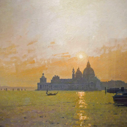 Peter Kelly - Dusk at Santa Maria della Salute