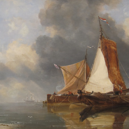 E. W. Cooke RA - Zuyder Zee Fishing Craft
