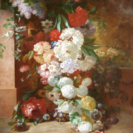 Antoine Pascal - Still life of flowers