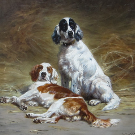 Jules-Bertrand Gelibert - Two Dogs