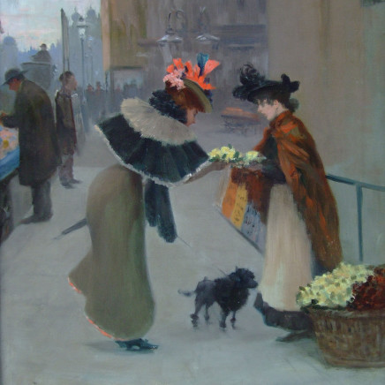 Albert Ludovici - The Flower Seller