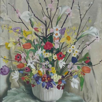 Anna Zinkheisen - Spring flowers