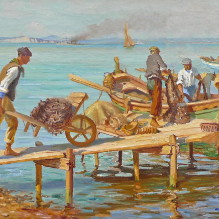 Marcel Dyf - Fishermen