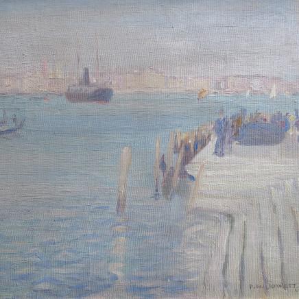Percy Hague Jowett - Venetian Scene, 1910