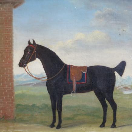 Francis Sartorius - A Pair of Horse Portraits