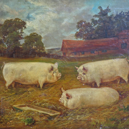 E.S England - Three Large Pigs