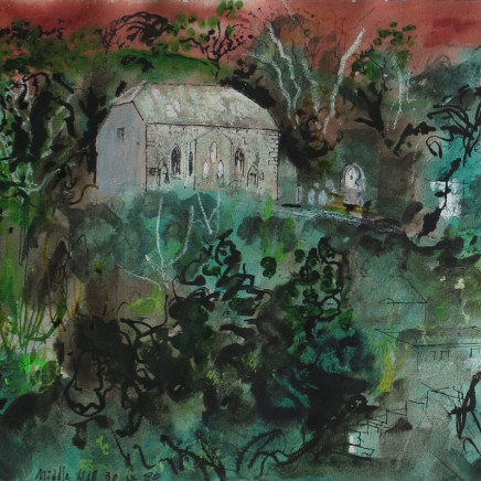John Piper - Middle Mill, 1980