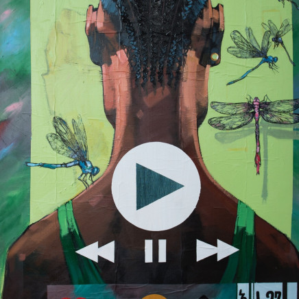 Dawit Abebe - Gap 8 - Liminal in the Age of Mobility , 2018