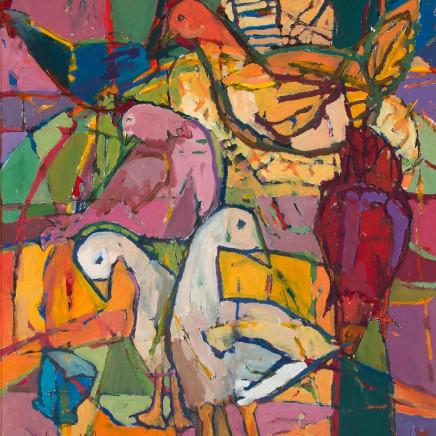 Catherine Imhof-Cardinal - Festive Window, 2017