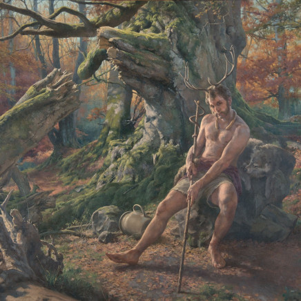 Paul Reid - Pan Forest study, 2015