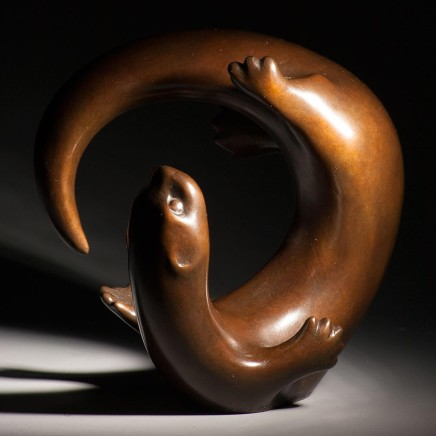 Laurence Broderick - Sandaig otter maquette iv