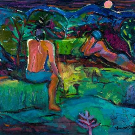 Annette Edgar - Midnight Tryst, 2017