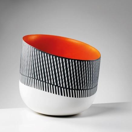 Orange Interior Bowl by Lara Scobie
