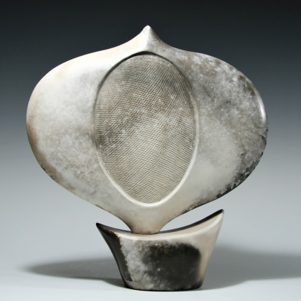 'Marbled Leaf that grows the land', stoneware.