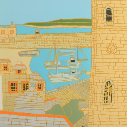 St Ives Harbour View, 2001