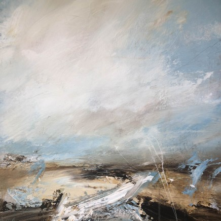 'Coastal Path' 2020, acrylic on canvas, 61 x 61 cm