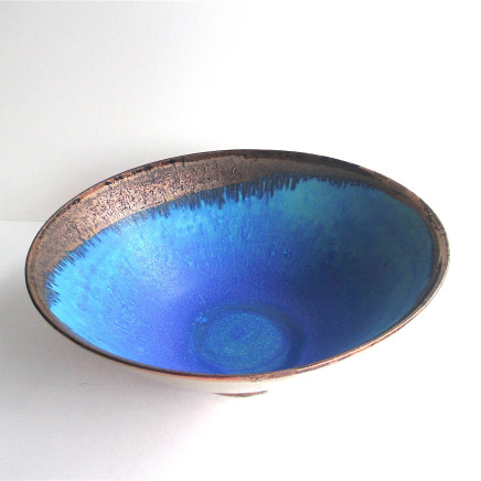Blue Grid Ellipse, 2018
